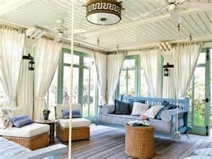 Curtains In Sunroom 35 Beautiful Sunroom Design Ideas