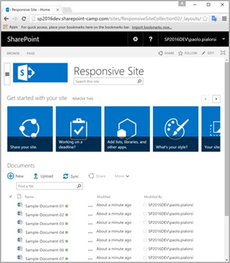 sharepoint responsive template microsoft announces responsive ui for sharepoint on prem