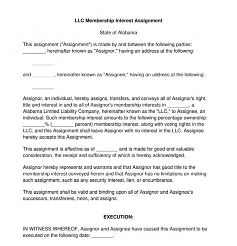 assignment llc interest perfecting security interest