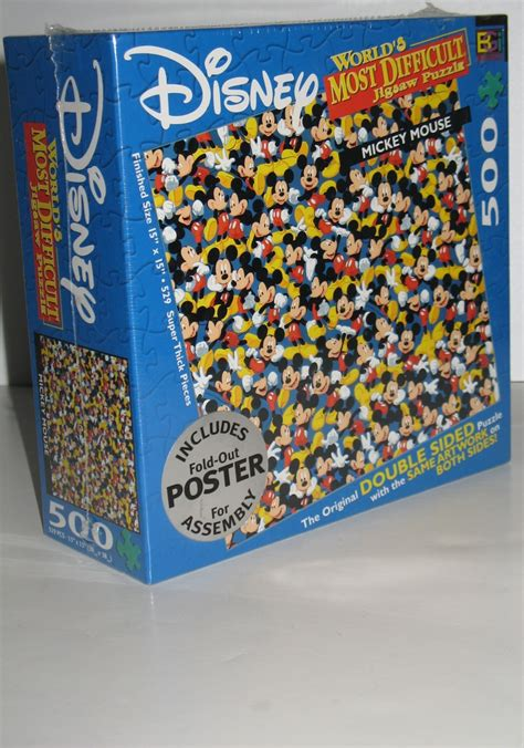 difficult printable jigsaw puzzles disney mickey mouse both sides and mickey mouse on pinterest