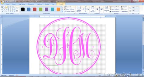 create a monogram wallpaper video search engine at how to create a monogram using microsoft word in my own