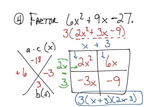 Factoring X2 Bx C Worksheet by Factoring Trinomials Of The Form X2 Bx C Worksheet Worksheets