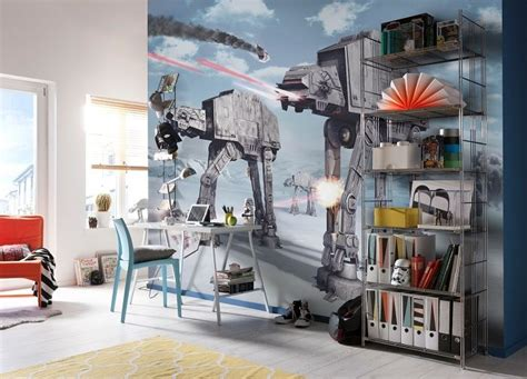 Star Wars Wall Stickers For Bedrooms star wars battle of hoth wall murals by homewallmurals