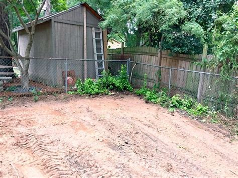 Levelling Backyard by Filling In A Sinkhole And Leveling Yard Part 3 The Duckling House