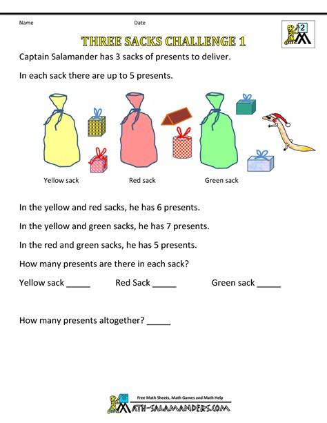 free printable christmas activities for fourth graders math worksheets