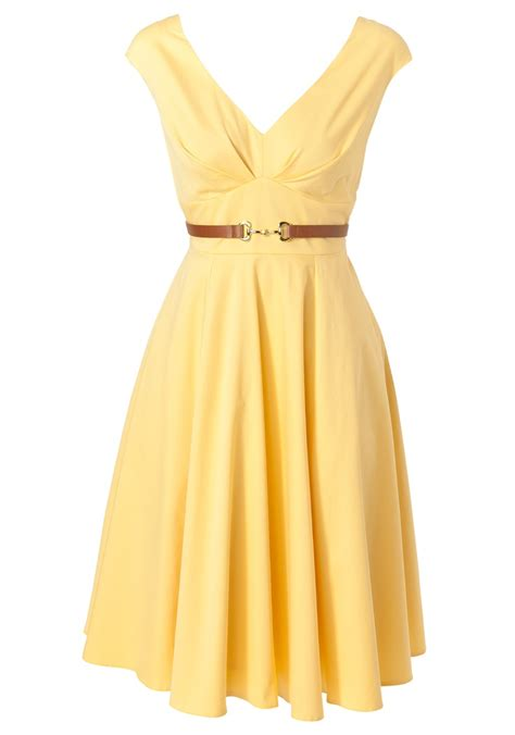Connection Yellow Summer Dress by This Would Be Beautiful To Wear For A Lightweight