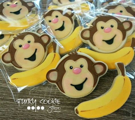 Monkey Cookie Cutter Baby Shower by 17 Best Ideas About Monkey Cookies On Chunky