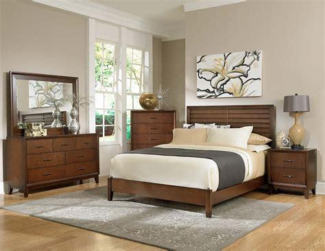 newcastle bed brown warm cherry homelegance oliver bedroom set warm brown cherry b2189