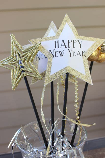happy new year crafts new year s wands and noisemakers for sohosonnet