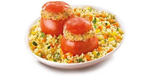 tomates farciesboulgour cuisin 233 aux petits l 233 gumes