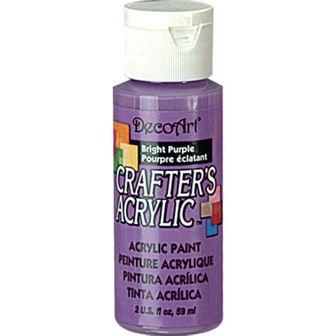 acrylic paint smell decoart crafters acrylic paint 2 oz bright purple