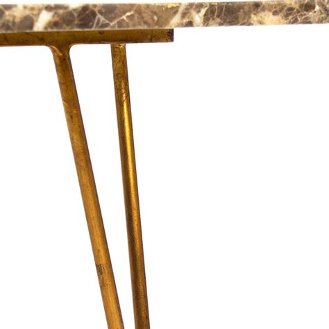 carolyn regency quartz gilded coffee table