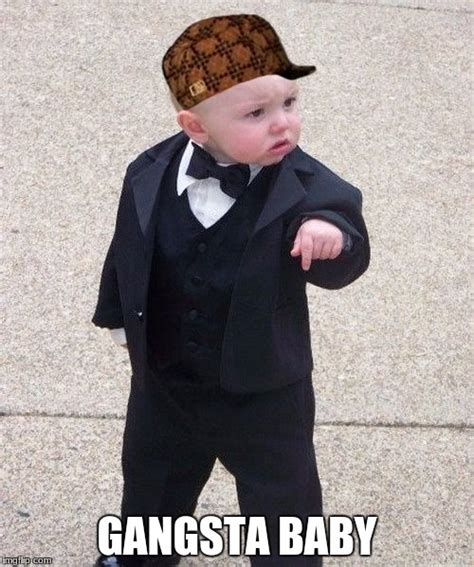 Gangster Baby Meme - baby godfather memes imgflip