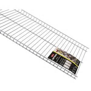Rubbermaid Garage Shelving by Rubbermaid 48 In L X 16 In D Fasttrack Garage Wire Shelf