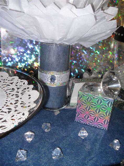 Denim Diamonds Fundraiser Party Ideas More Fundraiser Denim And Diamonds Centerpieces