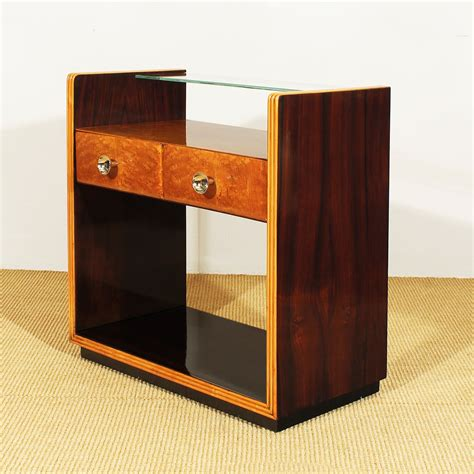 Set Of Nightstands by Deco Style Nightstands 1930s Set Of 2 For Sale At Pamono