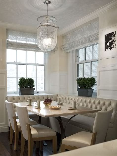 bench seating esszimmer tufted banquette kb home your windows are