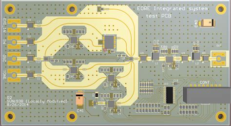 pcb rf layout critique input   radio telescope pcb