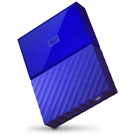 Wd My Passport New Model 4tb Hd Hdd Hardisk Eksternal External 25 wd 4tb my passport usb 3 0 secure portable wdbyft0040bbl wesn