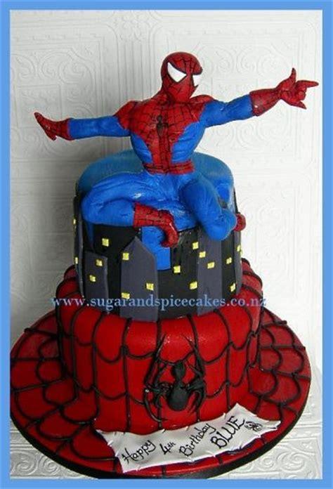 spiderman cake superhero birthday party spice cake cake zoe cake