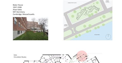 baker house comprehensive design 301 student housing baker house alvar aalto analysis by laila