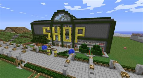 how to build a shop planet minecraft view topic 1000 ideas to build on