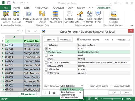 How To Get Records Removed How To Find U0026 Remove Duplicate Records In Excel 2003 How To Delete Duplicates In