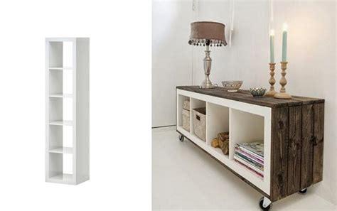 Ikea Expedit Bookcase Desk 18 Kreativa S 228 Tt Att Uppdatera Dina Ikeam 246 Bler I