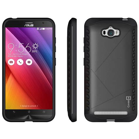 Asus Zenfone 3s Max 5 2 Hybrid Armor Kickstand coveron for asus zenfone max slim fit hybrid phone cover ebay