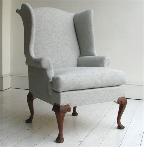 slipcover for queen anne chair queen anne wing chair remodelista