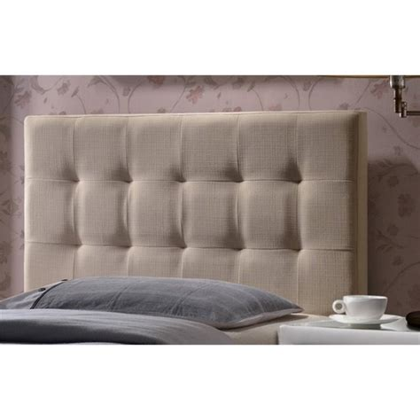 beige tufted headboard atlin designs upholstered tufted twin panel headboard in