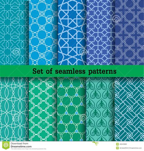what works for at work four patterns working need to books set of seamless patterns used for wallpaper print