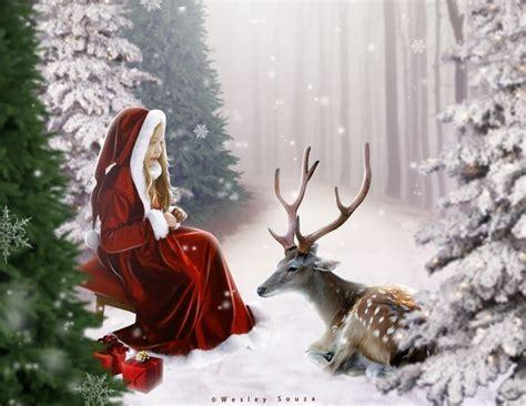 winter solstice art visit digital art fantasydeviantartcom animations pics