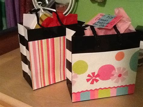 Gift Bags From Scrapbook Paper - use scrapbook paper and a sephora bag for custom