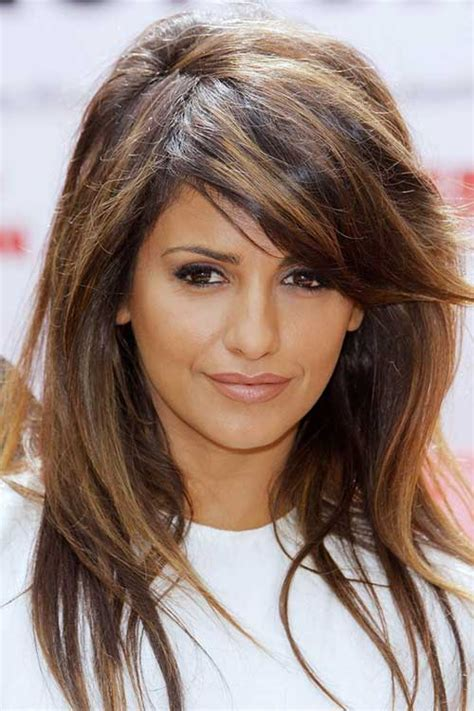 hairstyles and colours for long hair 2016 20 best medium hair cuts with bangs hairstyles