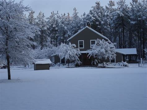 snow in south red bluff lodge it s a south carolina winter wonderland