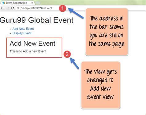 javascript tutorial guru99 angularjs ng view with exle