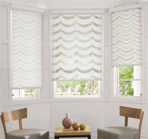 Bay Window Window Treatments Persiana Rol 244 Double Vision Franco Persianas