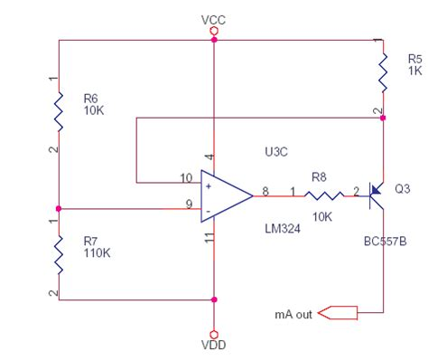 precision resistor current measurement current source for resistance measurement delabs schematics electronic circuit