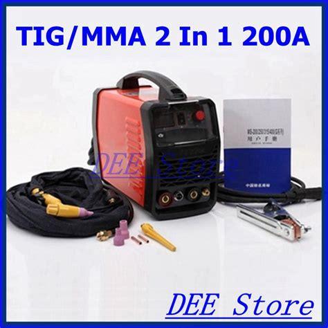 Promo Verostud 2in1 dc digital igbt inverter tig welding machine tig mma 2 in