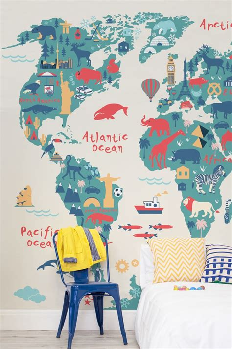 kids bedrooms around the world 25 best ideas about world map bedroom on pinterest world map mural world map