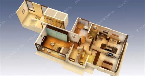 Coût Construction Maison 2674 by Engineering Et Architecture Plan De Maison En 3d