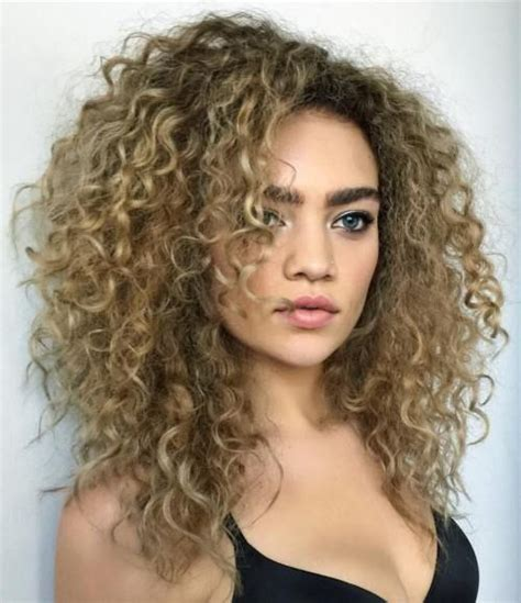 25 best ideas about thick curly haircuts on best 25 layered curly hair ideas on