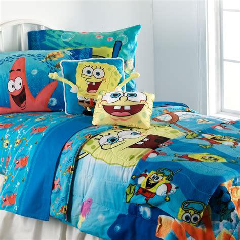 spongebob squarepants sheet set