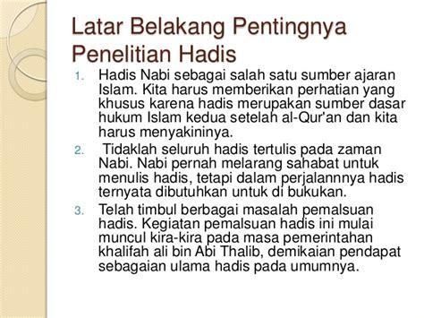 Peran Ilmu Hadis Dalam Pembinaan Hukum Islam 14 kritik sanad matn dalam ilmu hadits pptx baru