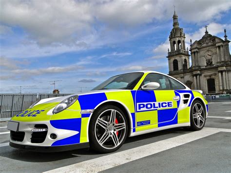 police porsche porsche 911 turbo uk police car ysf design