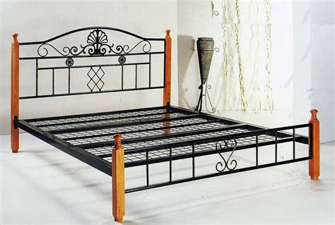 queen metal bed frames metal timber kingle single double queen bed frame