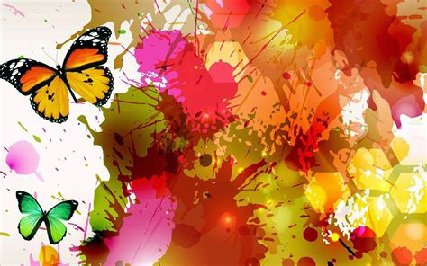 beautiful design colorful butterfly designs background for desktop abstract