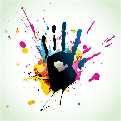 design art majors finger paint foto e vettori gratis