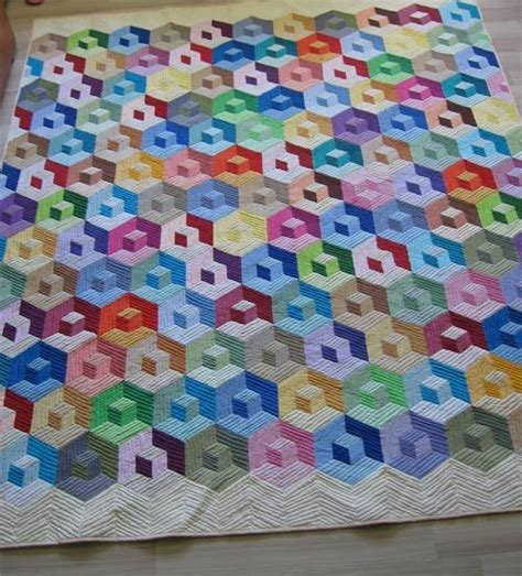 Tumbling Blocks Patchwork - tumbling patchwork polymer clay patchwork 2016 about